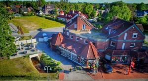 Blick auf Hotel Friesenhof aus der Vogelperspektive