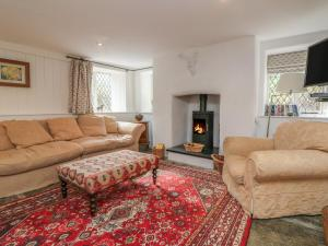 A seating area at Old Maids Cottage