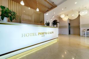 Лобби или стойка регистрации в Hotel Porto Calpe