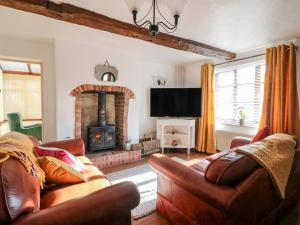 A seating area at Rose Cottage