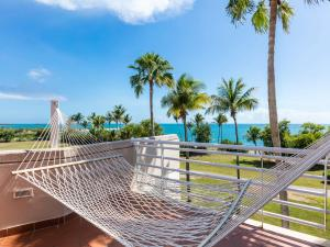 A balcony or terrace at Hilton Ponce Golf & Casino Resort