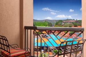 A view of the pool at Hilton Sedona Resort at Bell Rock or nearby