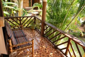 Een balkon of terras bij Chilling Hill Guesthouse