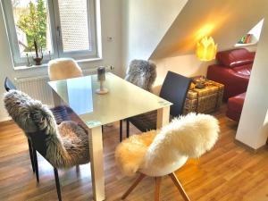 A seating area at Apartment Nürnberg Nord