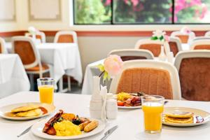 Breakfast options available to guests at WM Hotel Bankstown