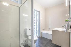 A bathroom at Nightcap at Watermark Glenelg