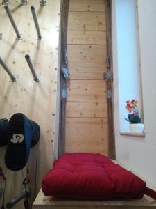 Ein Bett oder Betten in einem Zimmer der Unterkunft Burnout Wildalps