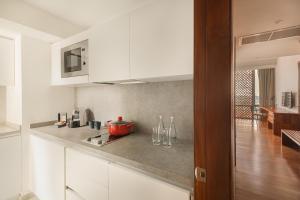 Cuisine ou kitchenette dans l'établissement Jetwing Colombo Seven