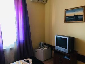 Телевизор и/или развлекательный центр в Гостевой дом Альфа