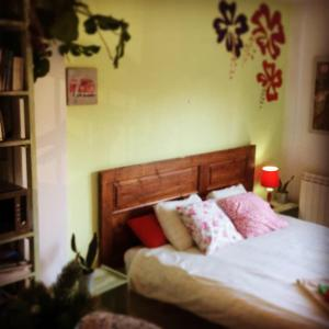 A bed or beds in a room at Casa Catharina