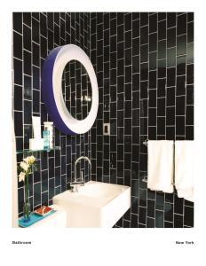 A bathroom at 6 Columbus Central Park Hotel
