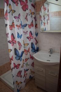 Ένα μπάνιο στο Mariren