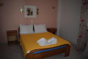 Ένα ή περισσότερα κρεβάτια σε δωμάτιο στο Mariren