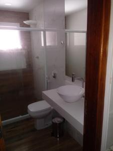 A bathroom at Casa no peró