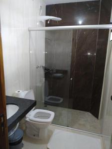 A bathroom at Hotel Kanaan