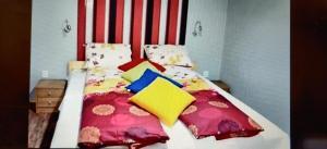 Posteľ alebo postele v izbe v ubytovaní Apartmány ELBA