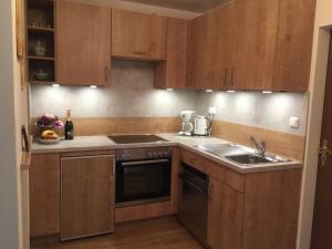 Küche/Küchenzeile in der Unterkunft Ferienwohnungen Maria