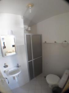 A bathroom at Aracaju Temporada