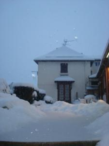 Chez Corine Marque during the winter