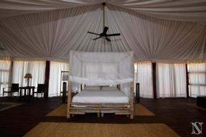 A bed or beds in a room at Eco Del Mar