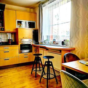 Kuchyň nebo kuchyňský kout v ubytování Brunetti Design Zlín