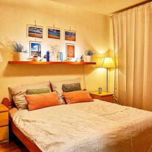 Postel nebo postele na pokoji v ubytování Brunetti Design Zlín