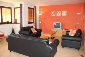 A seating area at Villa Park Lipno-Lipno-In