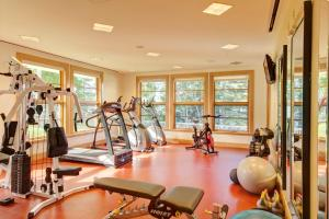 The fitness center and/or fitness facilities at Keltic Lodge at the Highlands