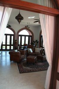 A seating area at Jodha Bai Retreat