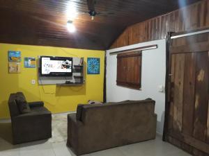 A seating area at Casa Bonito Centro