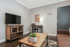 A television and/or entertainment center at Stylish OneBedroom in Popular Virginia Highland