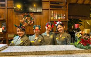 Members of staff at Kusnadi Hotel