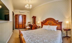 Кровать или кровати в номере Гостинично - ресторанный комплекс Dream Time