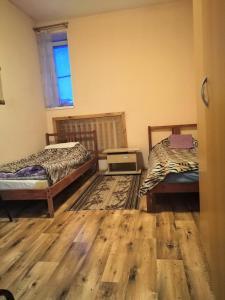 Кровать или кровати в номере Отель Усть-Луга