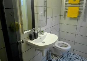 Koupelna v ubytování Apartment Villa Frank