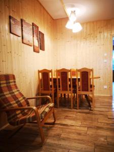 Posezení v ubytování Chaloupka u Razuly