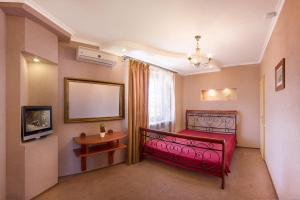 Кровать или кровати в номере Pantagruel
