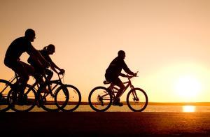 海人の宿の敷地内または近くで楽しめるサイクリング