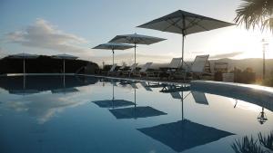 The swimming pool at or near Castello Di Gabbiano