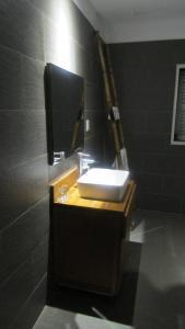 A bathroom at La Casita Saigon