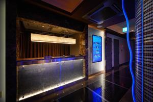The lobby or reception area at HOTEL ZEN KOHOKU