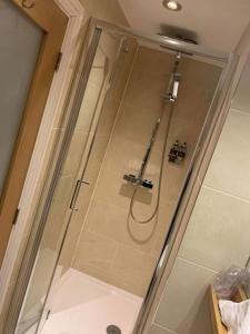 A bathroom at Plas Yn Dre