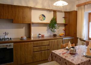 Cucina o angolo cottura di Hotel Mirabel