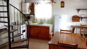 Una cocina o kitchenette en Cabañas Jade Capilla del Monte