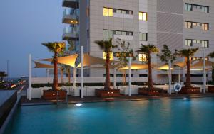 The swimming pool at or close to Olympic Residence Deluxe Apartments