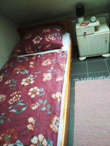 Postel nebo postele na pokoji v ubytování Domácí ubytování Kaňk