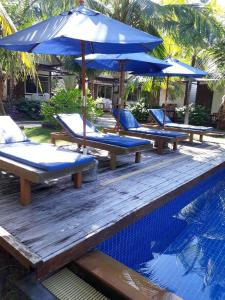 The swimming pool at or near Isle Beach Resort Krabi