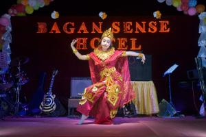 Evening entertainment for guests staying at Bagan Sense Hotel