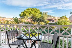 Balcon ou terrasse dans l'établissement Best Western Plus Hyères Côte D'Azur