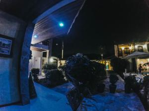 Pousada Larissa during the winter